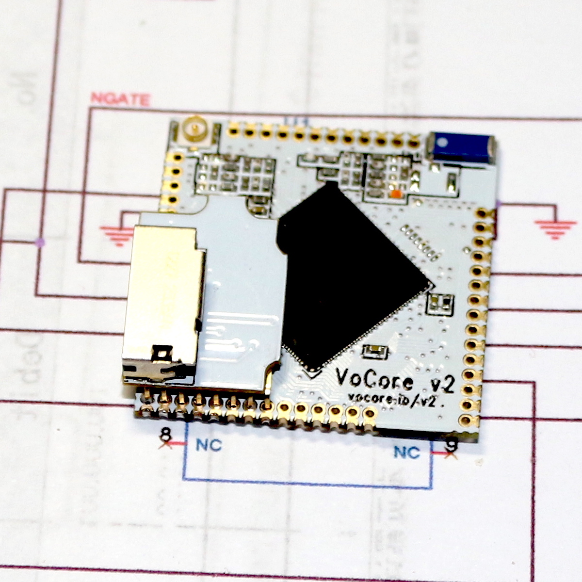 VoCore2   Coin-sized Linux Computer