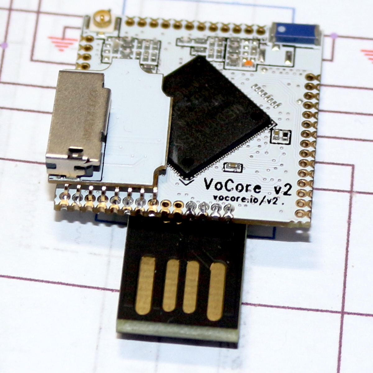 Vocore2 Coin Sized Linux Computer Usb To Wifi Adapter Circuit Diagram Datasheet Cross Reference Header Microsd